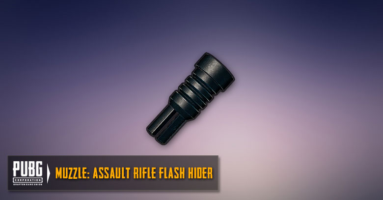Assault Rifles Flash Hider Guide | PUBG MOBILE - zilliongamer