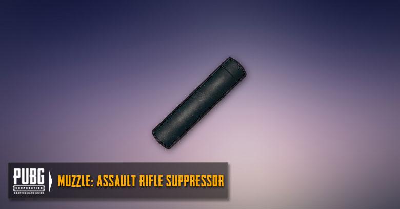 Assault Rifles Suppressor Guide | PUBG MOBILE - zilliongamer