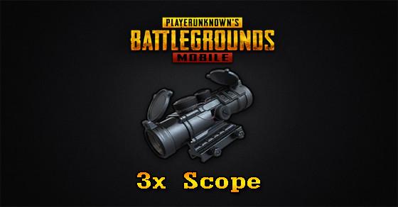 3x Scope | PUBG MOBILE - zilliongamer