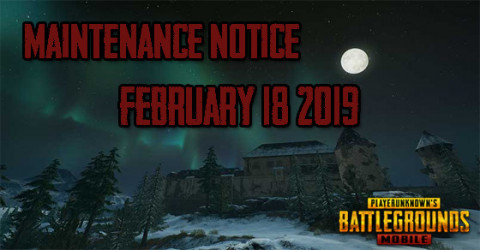 Maintenance Notice: Feb 18