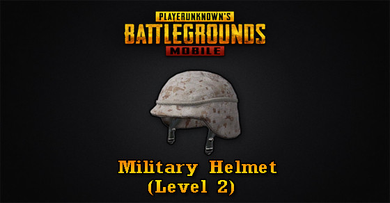 Military Helmet (Level 2) | PUBG MOBILE - zilliongamer