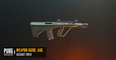 PUBG Mobile AUG A3 - Stats, Attachments Setup & Skins