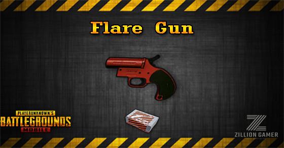 Flare Gun Pubg Mobile Zilliongamer