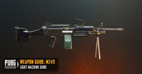 سلاح لعبة ببجي رشاش M249