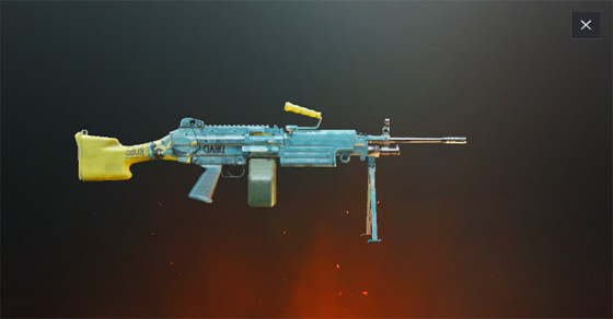 M249   PUBG MOBILE - zilliongamer