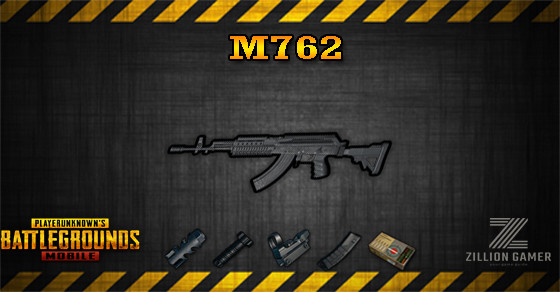 M762 Pubg Mobile Zilliongamer