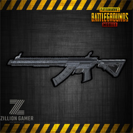 Mk47 Mutant Assault Rifle in PUBG Mobile.