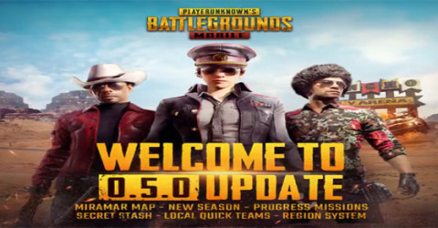 Pubg mobile 0.5.0 major update
