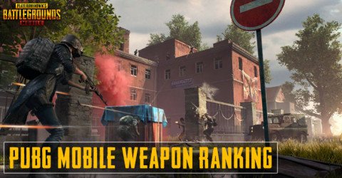 PUBG Mobile Weapon Ranking