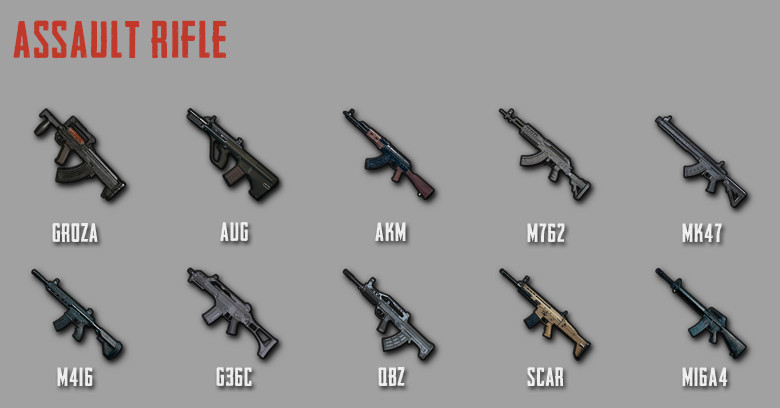 Pubg Mobile Complete Weapon Stats Latest Zilliongamer