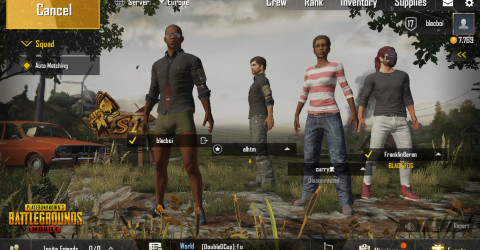 Squad game mode