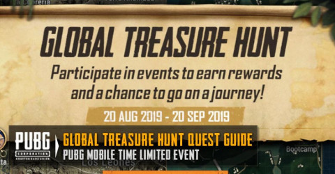Global Treasure Hunt Guide To Complete The Quest | PUBG