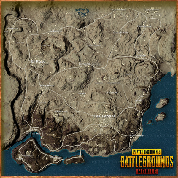 Miramar Map in PUBG MOBILE - zilliongamer your game guide