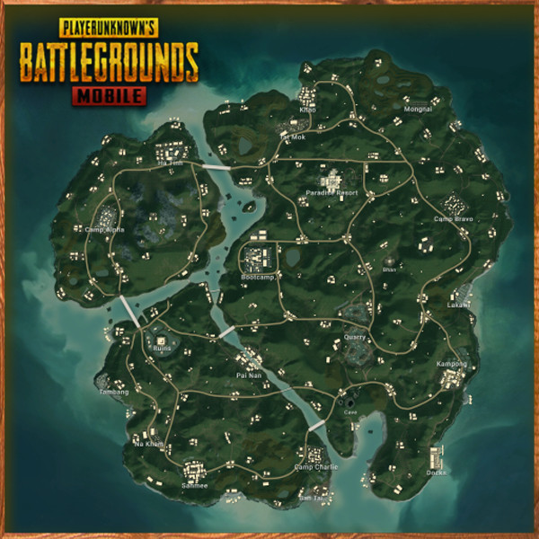 Sanhok Map in PUBG MOBILE -zilliongamer your game guide