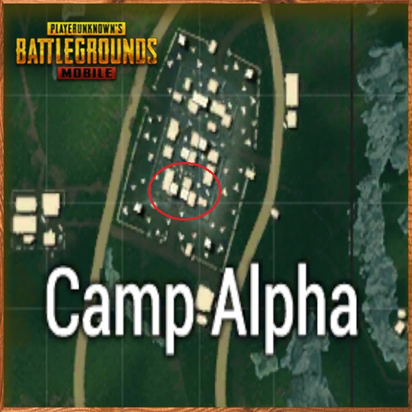Camp Alpha down side | PUBG MOBILE - zilliongamer your game guide