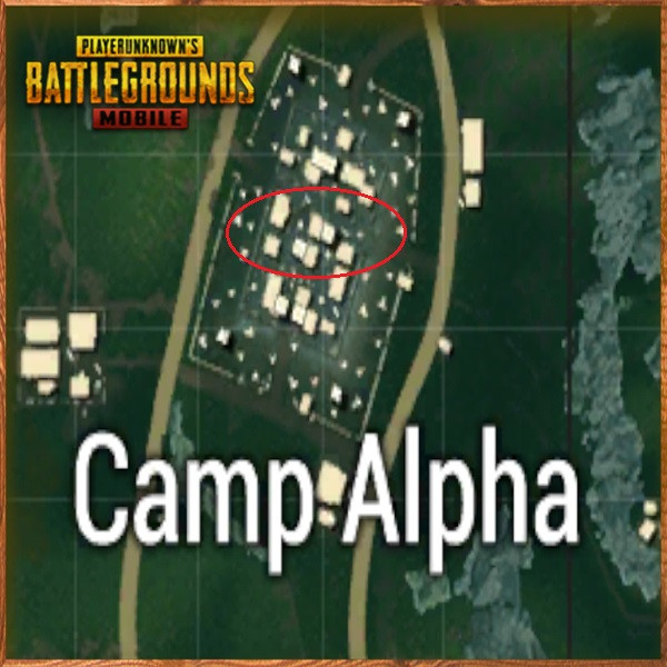 Camp Alpha Middle Side | PUBG MOBILE - zilliongamer your game guide