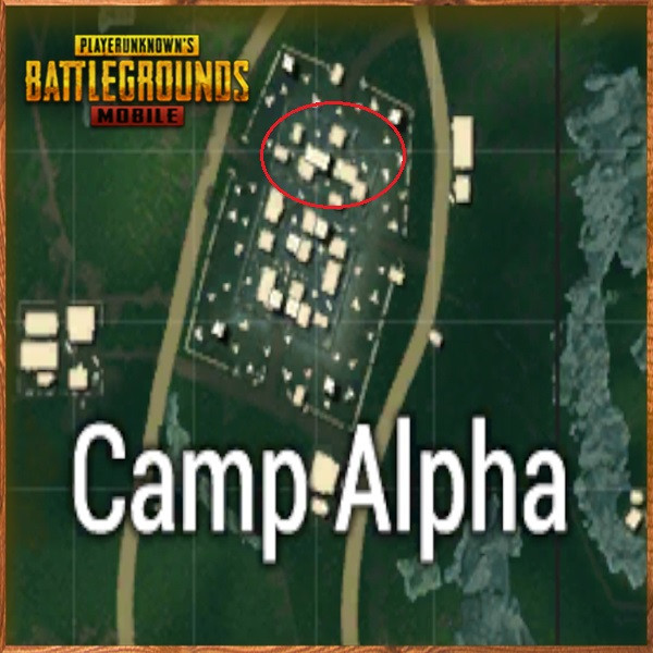 Camp Alpha Top side | PUBG MOBILE - zilliongamer your game guide