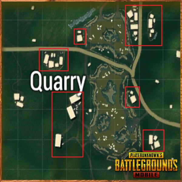 Quarry Houses | PUBG MOBILE - zilliongamer your game guide