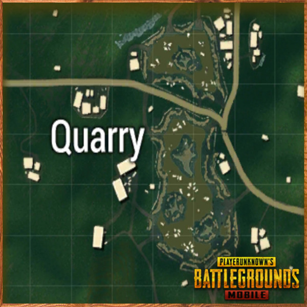 Quarry top view | PUBG MOBILE - zilliongamer your game guide
