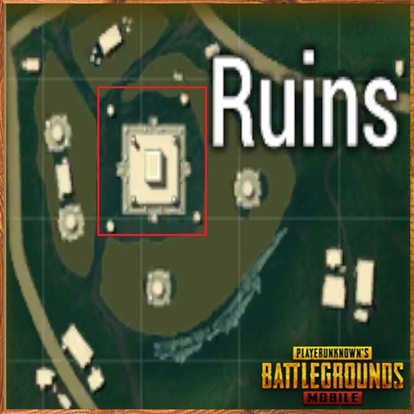 Middle Temple in Ruins | PUBG MOBILE - zilliongamer your game guide