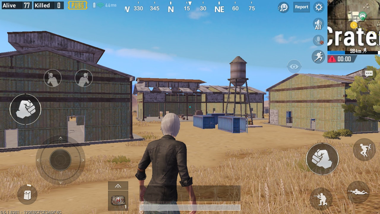 3 Warehouses in Crater Fields | PUBG MOBILE - zilliongamer your game guide