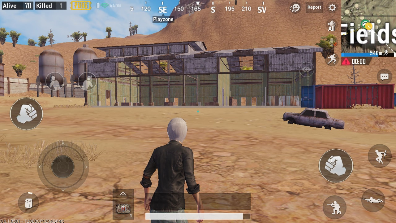 Big Warehouse in Crater Fields | PUBG MOBILE - zilliongamer your game guide
