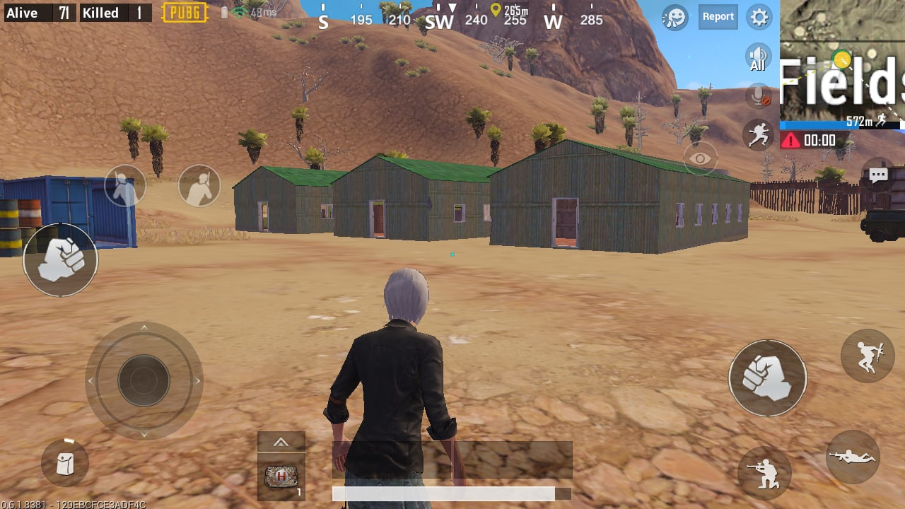 Green Roof Houses in Crater Fields | PUBG MOBILE - zilliongamer your game guide