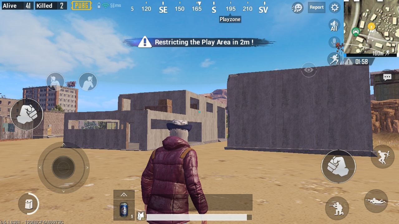 Cement Building in PUBG MOBILE - zilliongamer your game guide