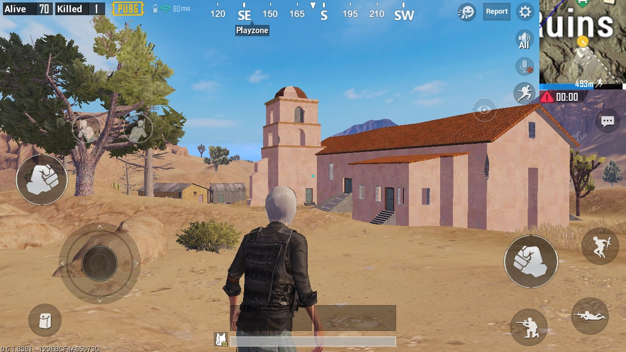 Ruins Church in PUBG MOBILE - zilliongamer your game guide