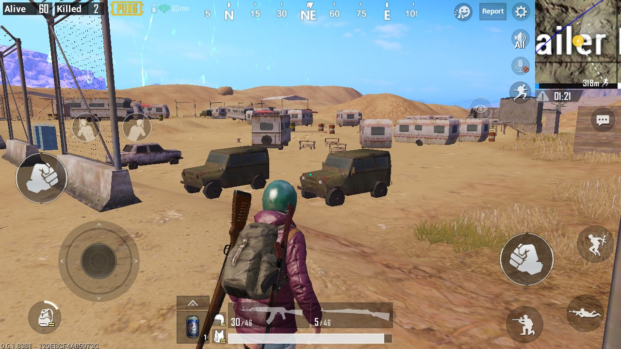 Trailer Park Loot Spot in PUBG MOBILE - zilliongamer your game guide