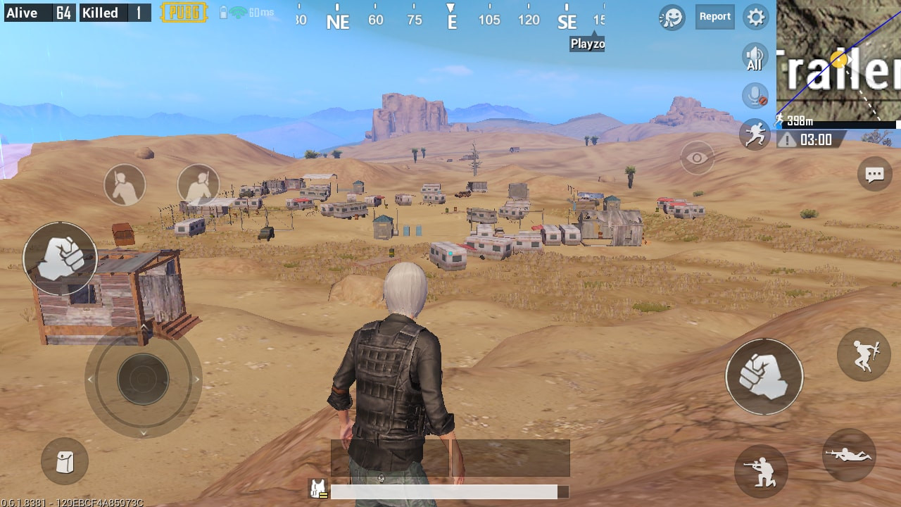 Trailer Park View in PUBG MOBILE - zilliongamer your game guide