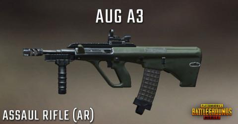 سلاح لعبة ببجي رشاش Aug A3