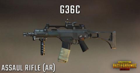 AR: G36C pubg