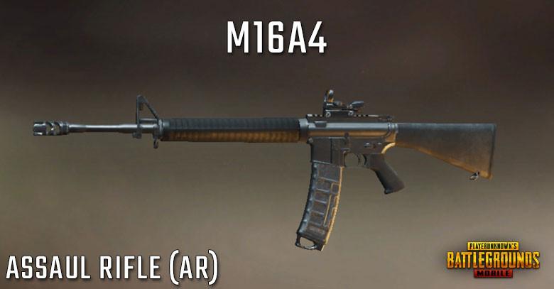 PUBG Mobile M16A4 - Stats, Attachments Setup & Skins | zilliongamer