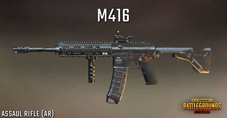 PUBG Mobile M416 - Stats, Attachments Setup & Skins | zilliongamer