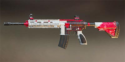 M416 PUBG Mobile Skin: Stained Soul - zilliongamer
