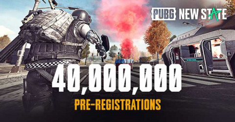 PUBG New State Reach 40 Million Pre-Registrations