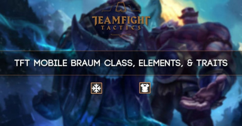 TFT Mobile Braum Class, Elements, Traits
