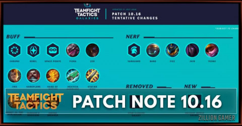 TFT Patch 10.16 Notes Champions, Items, Traits Buff and Nerf