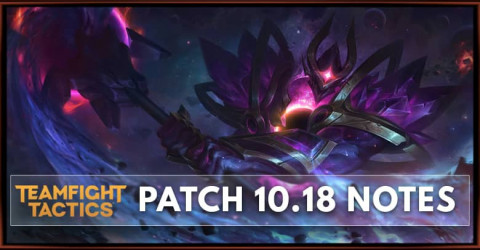 Last TFT Galaxy Set Patch 10.18 Notes