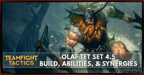 Olaf TFT Set 4.5 Build, Abilties, & Synergies