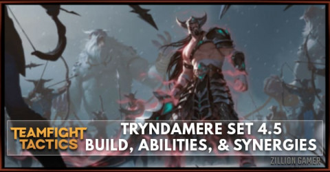 Tryndamere TFT Set 4.5 Build, Abilities, & Synergies