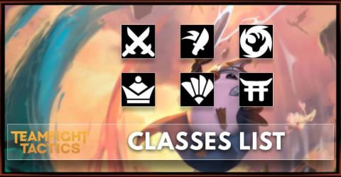 TFT Set 4.5 Classes List