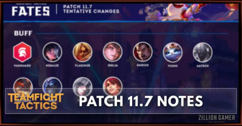 TFT Patch 11.7 Notes Champions, Traits, & Items Buff, Nerf, & Adjust