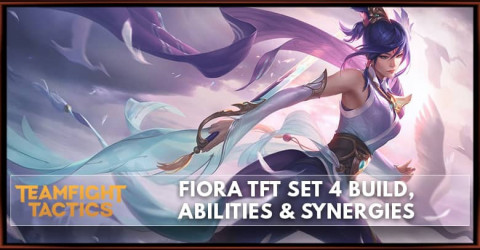 Fiora TFT Set 4 Build, Abilities & Synergies