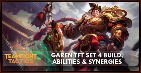 Garen TFT Set 4 Build, Abilities & Synergies
