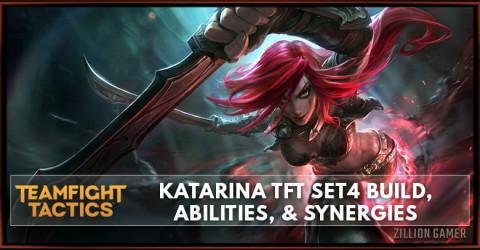 Katarina TFT Set 4 Build, Abilities, & Synergies