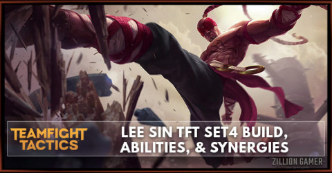 Lee Sin TFT Set 4 Build, Abilities, & Synergies
