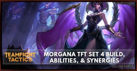 Morgana TFT Set 4 Build, Abilities, & Synergies