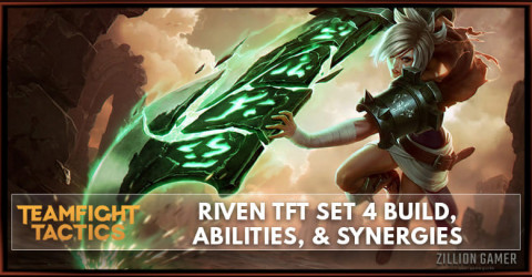 Riven TFT Set 4 Build, Abilities, & Synergies